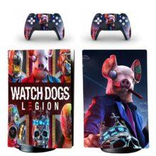 Watch Dogs Legion PS5 Digital Edition Skin Sticker Decal