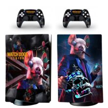 Watch Dogs Legion Skin Sticker Decal For PS5 Digital Edition