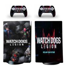 Watch Dogs Legion PS5 Digital Edition Skin Sticker Decal Design 1