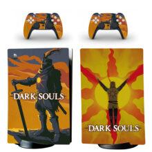 Dark Souls Skin Sticker Decal For PS5 Digital Edition Design 7
