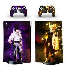 Naruto Uzumaki Skin Sticker Decal For PS5 Digital Edition