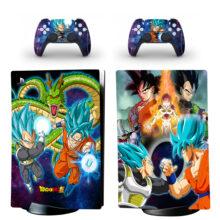 Dragon Ball Z Skin Sticker Decal For PS5 Digital Edition