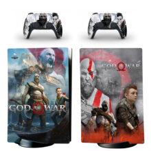 God Of War Skin Sticker Decal For PS5 Digital Edition Design 5