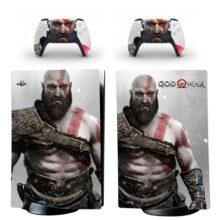 God Of War Skin Sticker Decal For PS5 Digital Edition Design 6