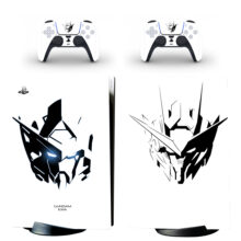 Gundam Skin Sticker Decal For PS5 Digital Edition And Controllers