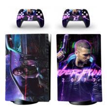 Cyberpunk 2077 Skin Sticker Decal For PS5 Digital Edition