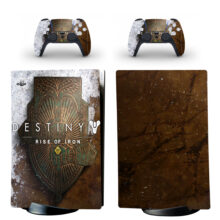 Destiny Rise Of Iron Skin Sticker Decal For PS5 Digital Edition