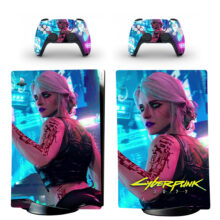 Cyberpunk 2077 PS5 Digital Edition Skin Sticker Decal Design 1