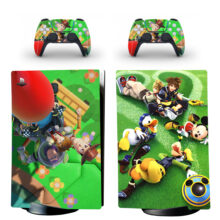 Kingdom Hearts Donald Duck Mickey Mouse PS5 Digital Edition Skin Sticker Decal