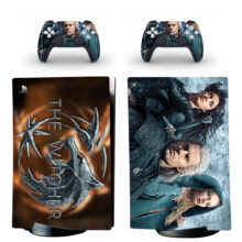 The Witcher PS5 Digital Edition Skin Sticker Decal