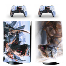 Monster Hunter World PS5 Digital Edition Skin Sticker Decal