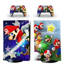 Super Mario Bros PS5 Digital Edition Skin Sticker Decal