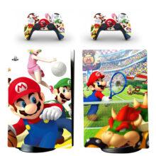 Super Mario Bros PS5 Digital Edition Skin Sticker Decal Design 3
