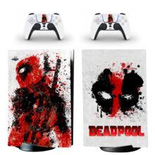 Deadpool PS5 Digital Edition Skin Sticker Decal