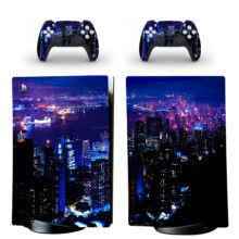 Night City Wallpapers PS5 Digital Edition Skin Sticker Decal