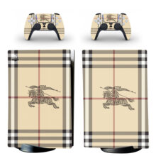Burberry Knight Skin Sticker Decal For PS5 Digital Edition