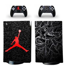Michael Jordan Skin Sticker Decal For PS5 Digital Edition And Controllers