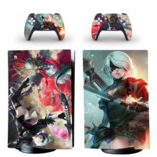 Nier Skin Sticker Decal For PS5 Digital Edition And Controllers