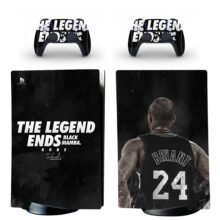 The Legend Ends Black Mamba Kobe Skin Sticker Decal For PS5 Digital Edition