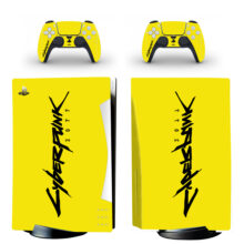Cyberpunk 2077 PS5 Digital Edition Skin Sticker Decal Design 3