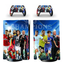 Football Champions League Wallpaper PS5 Digital Edition Skin Sticker Decal