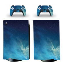 Milky Way Galaxy Pattern PS5 Digital Edition Skin Sticker Decal Design 9