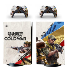 Call Of Duty Black Ops Cold War PS5 Digital Edition Skin Sticker Decal Design 1
