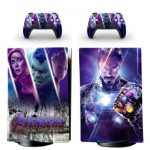 Avengers Endgame PS5 Digital Edition Skin Sticker Decal