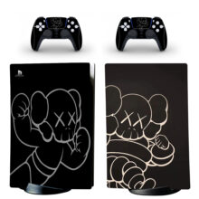 Kaws PS5 Digital Edition Skin Sticker Decal