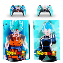 Dragon Ball Z Skin Sticker Decal For PS5 Digital Edition Design 5