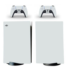 Pure Gray PS5 Digital Edition Skin Sticker Decal