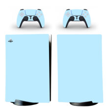 Pure Solid Color Gradient PS5 Digital Edition Skin Sticker Decal Design 2
