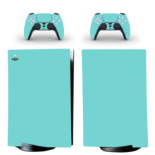 Pure Solid Color Gradient PS5 Digital Edition Skin Sticker Decal Design 3