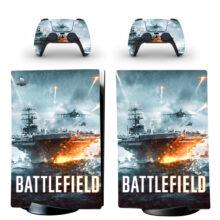 Battlefield Skin Sticker Decal For PS5 Digital Edition