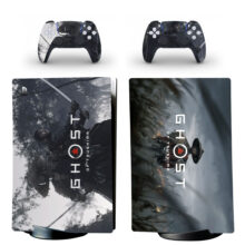 Ghost Of Tsushima Skin Sticker Decal For PS5 Digital Edition Design 9