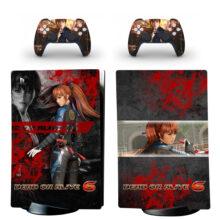 Dead Or Alive 6 PS5 Digital Edition Skin Sticker Decal Design 3