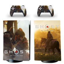 Ghost Of Tsushima Skin Sticker Decal For PS5 Digital Edition Design 10