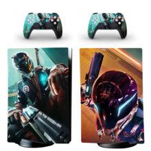 Hyper Scape PS5 Digital Edition Skin Sticker Decal