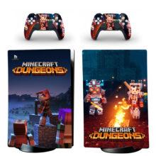 Minecraft Dungeons PS5 Digital Edition Skin Sticker Decal