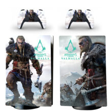 Assassin's Creed Valhalla Skin Sticker Decal For PS5 Digital Edition