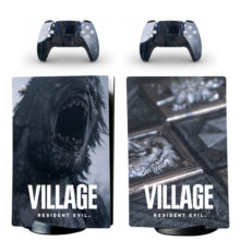 Resident Evil Village PS5 Digital Edition Skin Sticker Decal Design 1