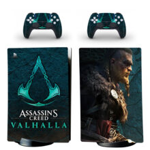 Assassin's Creed Valhalla PS5 Digital Edition Skin Sticker Decal Design 2