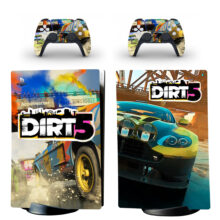 Dirt 5 Skin Sticker Decal For PS5 Digital Edition