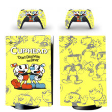Cuphead PS5 Digital Edition Skin Sticker Decal