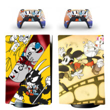 Cuphead Skin Sticker Decal For PS5 Digital Edition And Controllers