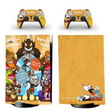 Cuphead Skin Sticker Decal For PS5 Digital Edition