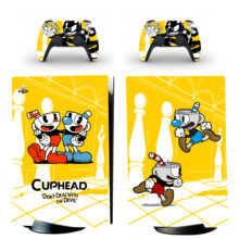 Cuphead Skin Sticker Decal For PS5 Digital Edition Design 2