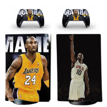 Los Angeles Lakers PS5 Digital Edition Skin Sticker Decal Design 2