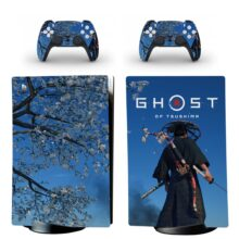 Ghost Of Tsushima Skin Sticker Decal For PS5 Digital Edition Design 12