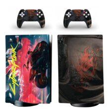 Cyberpunk 2077 PS5 Digital Edition Skin Sticker Decal Design 4